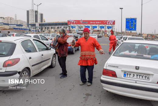 ترافیک جادهای محور فیروزکوه