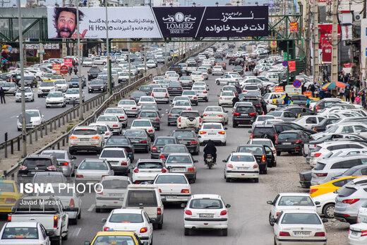آخرین وضعیت ترافیکی جادههای کشور در 3 اردیبهشت ماه