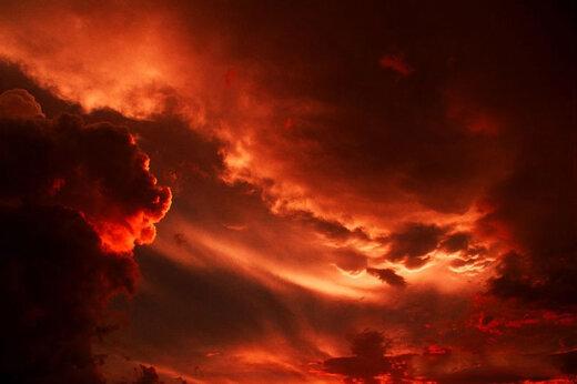 ببینید | طوفان سرخ در اصفهان