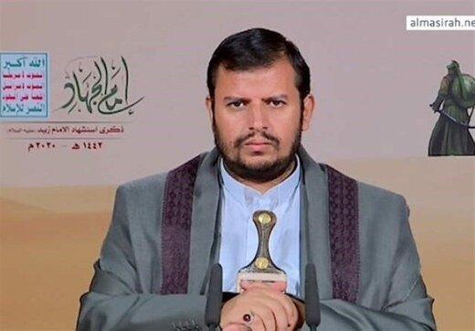 رهبر انصارالله آمریکا را مسئول مستقیم جنگ یمن اعلام کرد
