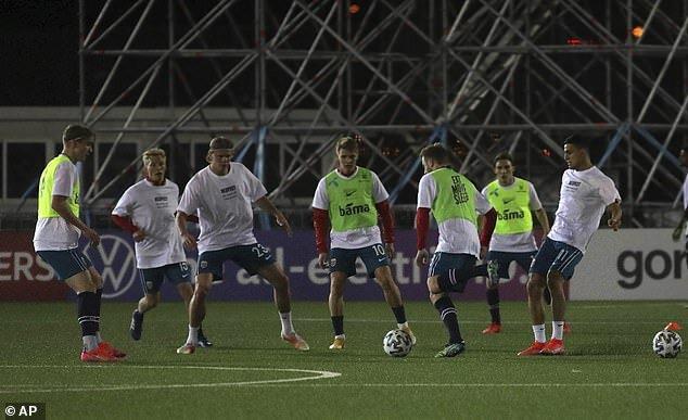 اقدام تیم ملی نروژ ضد میزبانی قطر در جام جهانی /عکس