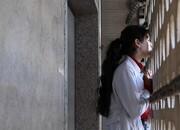 دختری در همسایگی ماه، روی پوستر یک فیلم/ عکس