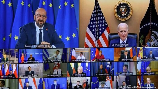 اقدام بایدن برای حل اختلافات با اروپا