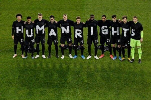 ادامه جنجال ها ضدمیزبانی قطر این بار از سوی آلمانی ها /عکس