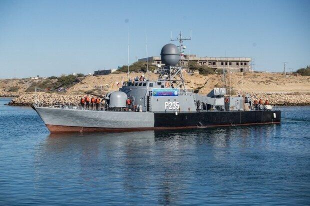 غولهای نظامی ایران در دریا + عکس