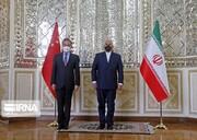 إنعقاد الجولة الأولى من المحادثات بين وزيري خارجية إيران والصين