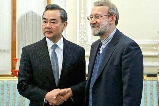 ببینید | نخستین دیدار وزیر خارجه چین در تهران