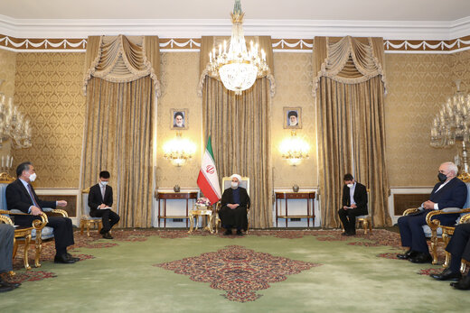 Rouhani deems Iran-China ties as important, strategic