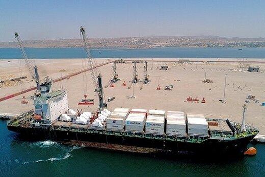 ورود کشتی حامل کالای اساسی به چابهار