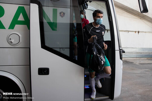 تمرین تیم ملی فوتبال ایران