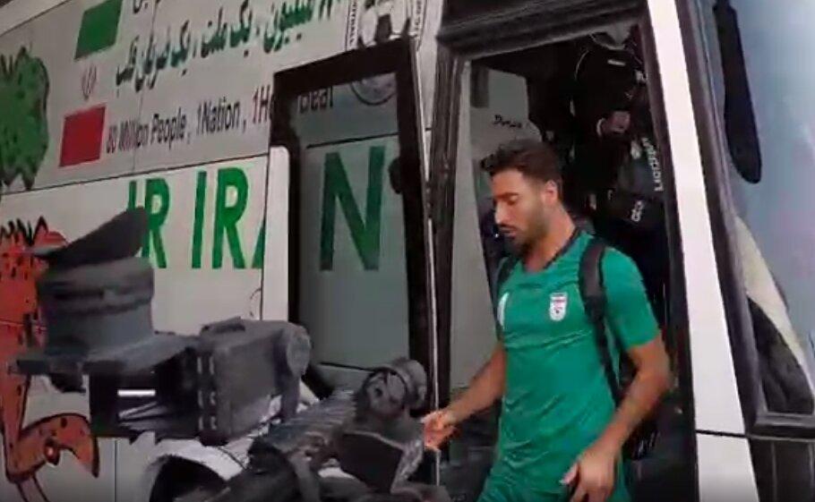 شجاع خلیلزاده تنها ملیپوش بدون ماسک/عکس