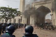 ببینید | اعتراضات خونین به سفر نخست وزیر هند به بنگلادش