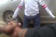 ببینید | دستبند زدن کودک «پنج ساله» سیاه پوست در آمریکا