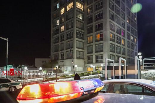 حضور بازپرس ویژه قتل در محل پیدا شدن جسد آزاده نامداری