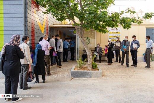 مرحله نخست واکسیناسیون بیماران مبتلا به سرطان در شیراز