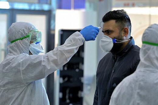 سلامت/ مسافران خارجی در فرودگاه بین المللی مشهد تست پیسیآر میدهند