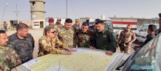 عملیات الحشدالشعبی در نزدیکی مرز عربستان