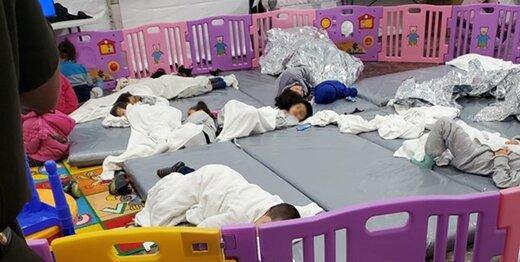 بایدن خواستار حذف تصاویر کودکان در اردوگاه پناهجویان شد