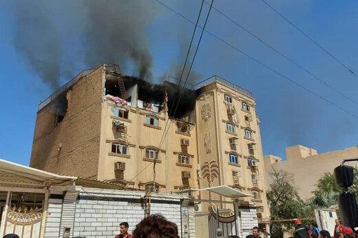 ببینید |  انفجار مهیب مجتمع مسکونی در اهواز