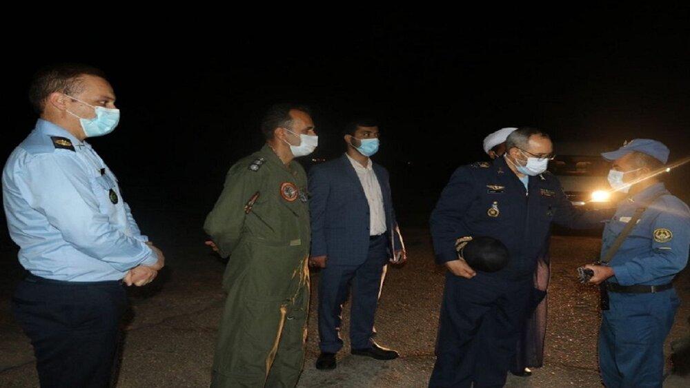 بازدید فرمانده نیروی هوایی از یگان های ارتش/ قدرت دفاعی ما برای ملت پشتوانه امنیت است