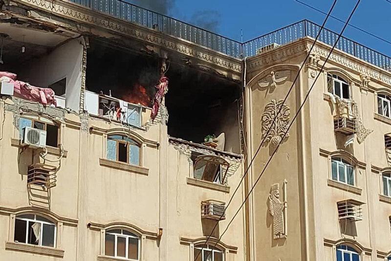 5545803 - تصاویر | انفجار یک واحد مسکونی در کیان آباد اهواز