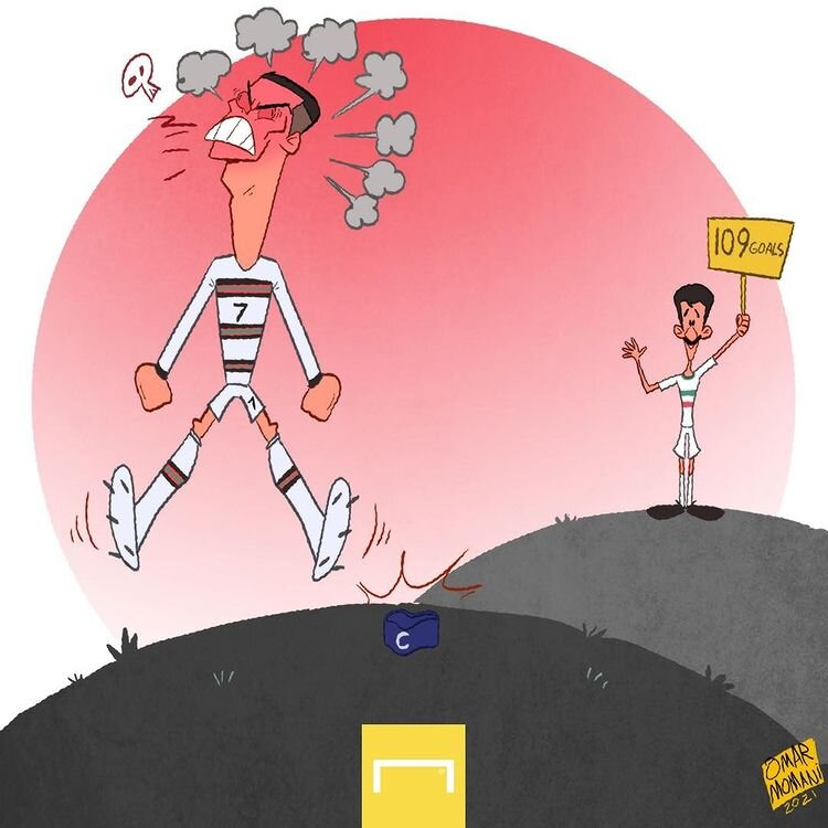 ببینید: رونالدو همچنان در حسرت رکورد علی دایی!