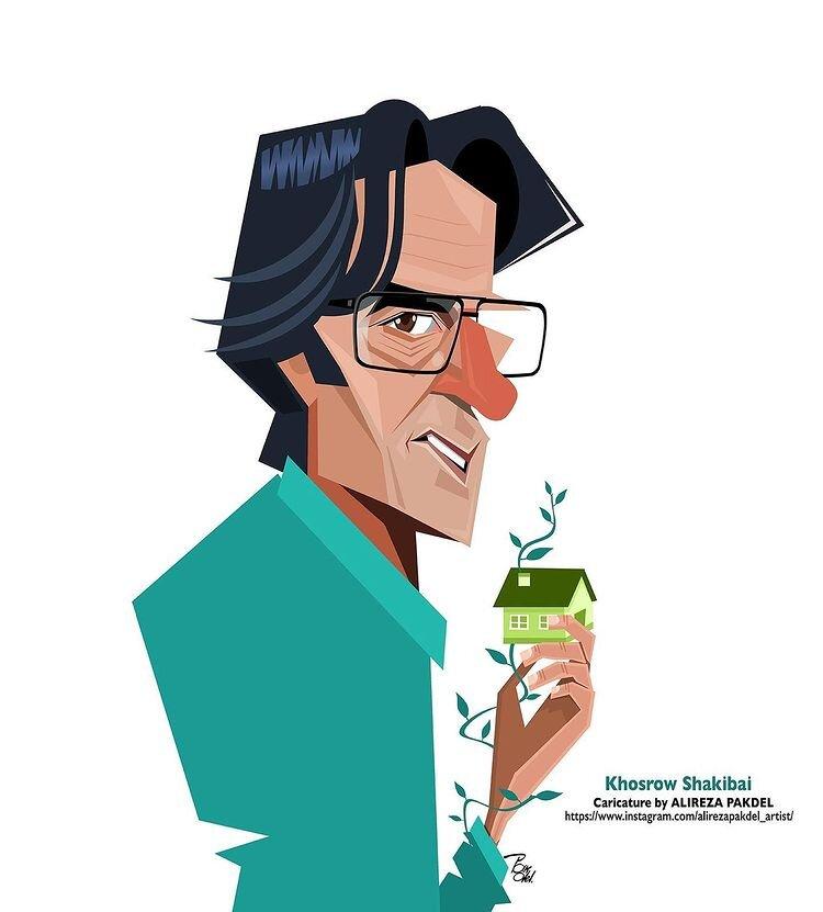 ببینید: مردی با ریشههای سبز