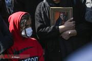 تصاویر | مراسم تشییع و خاکسپاری آزاده نامداری