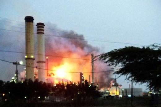 ببینید | انفجار مرگبار در پالایشگاه نفت اندونزی