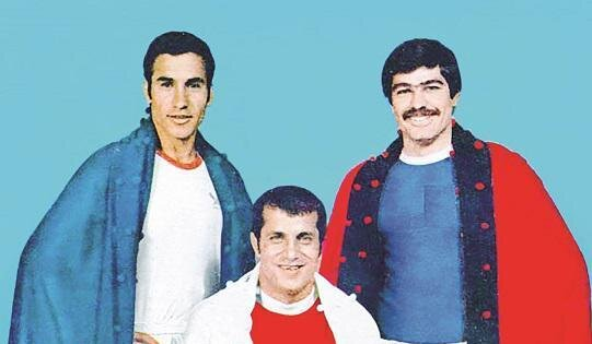 وقتی سه بازیکن مطرح تیمملی به آتلیه رفتند/عکس