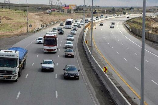 ثبت ۷ میلیون و ۱۰۰ هزار تردد در جادههای استان همدان در ایام نوروز