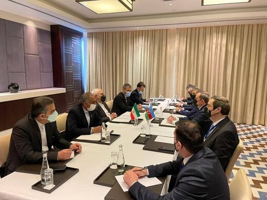 دیدار ظریف با وزیر خارجه جمهوری آذربایجان