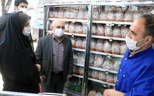 ۴۵۲تن مرغ گرم در قزوین توزیع شد