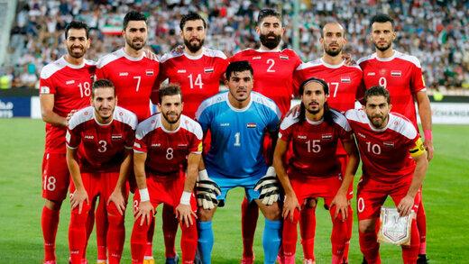 ترکیب سوریه برای بازی با ایران