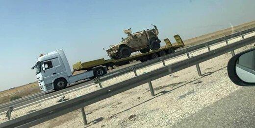 دومین کاروان لجستیکی آمریکا در عراق هدف قرار گرفت