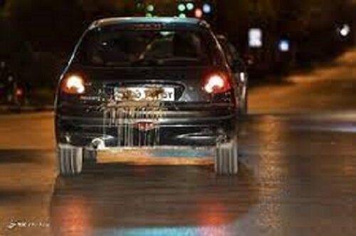 موضوع مخدوشکردن پلاک خودروها در ساعات منع تردد شبانه چیست؟