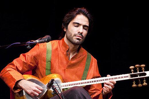 تارنوازی علی قمصری در بیستون