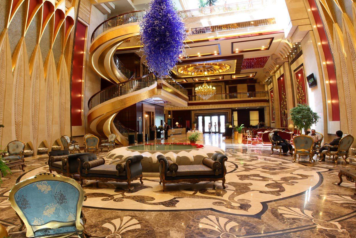 هتل های لوکس 5 ستاره مشهد