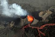 ببینید | تصاویر بی نظیر پهپادی از آتشفشان فوران کرده ایسلند