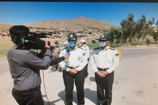 پلیس در طول محورهای مواصلاتی استان حضور فعال و موثر موثری دارد