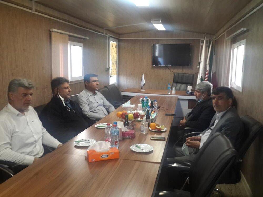 بازدید دستیار وزیر ارتباطات از عملیات پتروشیمی دهدشت