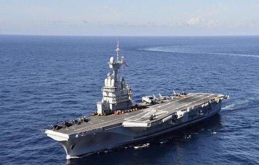 فرانسه فرماندهی نیروی دریایی ائتلاف برای مبارزه با داعش را برعهده گرفت