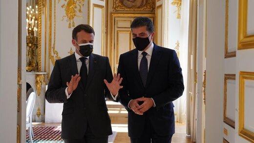 """حاشیههای سفر بارزانی به پاریس/ شبه نظامیان """"ربع الله"""" در بغدادچه می کنند؟"""