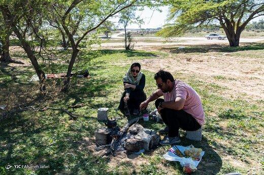 از نفس افتادن خنکای بهار در بوشهر