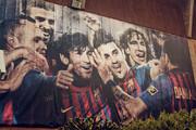 بشنوید | دیوارنگارههایی روی قلب هواداران فوتبال!