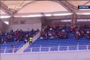 ببینید | حضور عجیب هواداران روی سکوهای ورزشگاه امام رضا (ع)