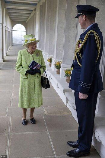 سبزپوشی ملکه