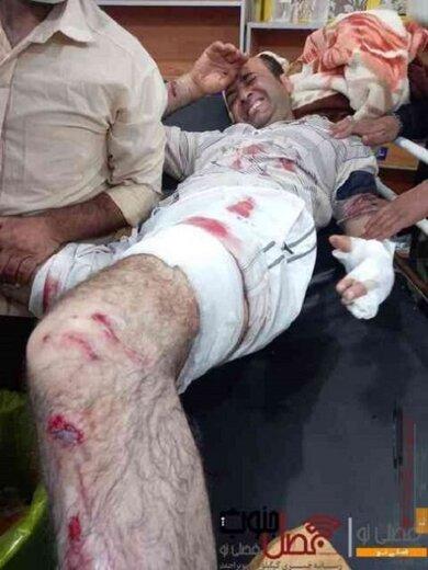 حمله پلنگ به یک مرد در شهرستان دنا بخش پاتاوه