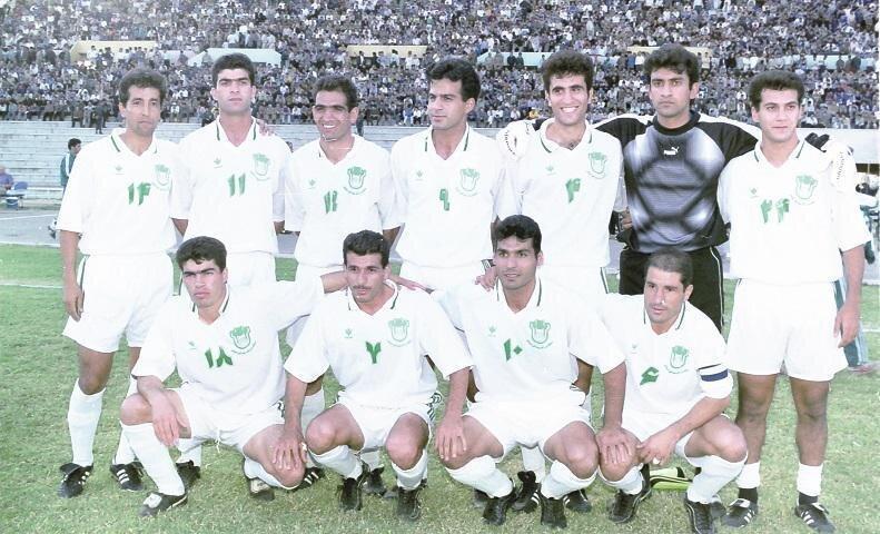 تیم ناصر حجازی، 22 سال قبل/عکس