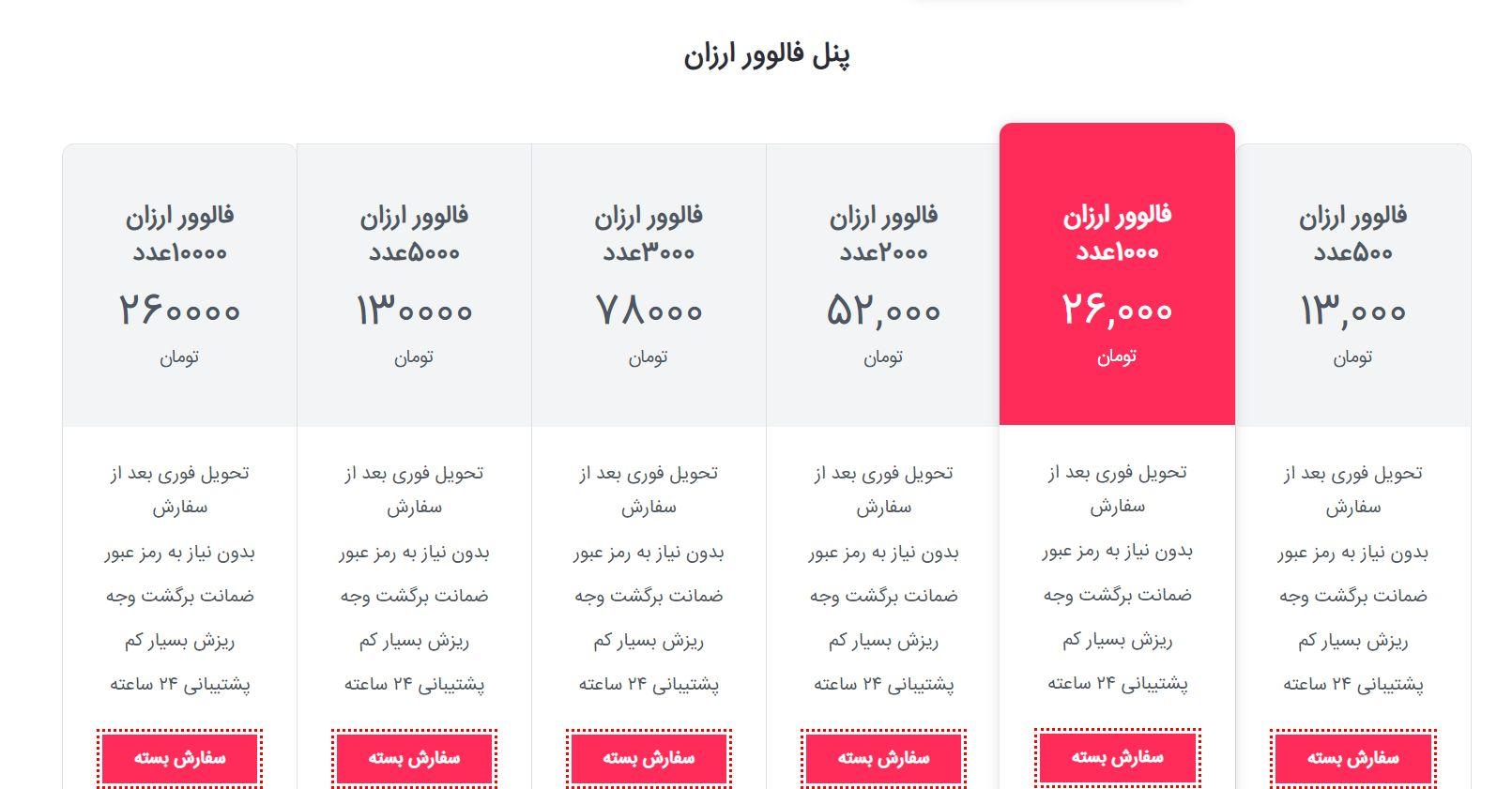 معرفی بهترین سایت خرید فالوور اینستاگرام ارزان قیمت